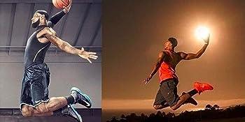 Elite Basketball Crew Socks Medium (Fits Men Size 6-8, Women 6-10) White, Red grey green royal blue