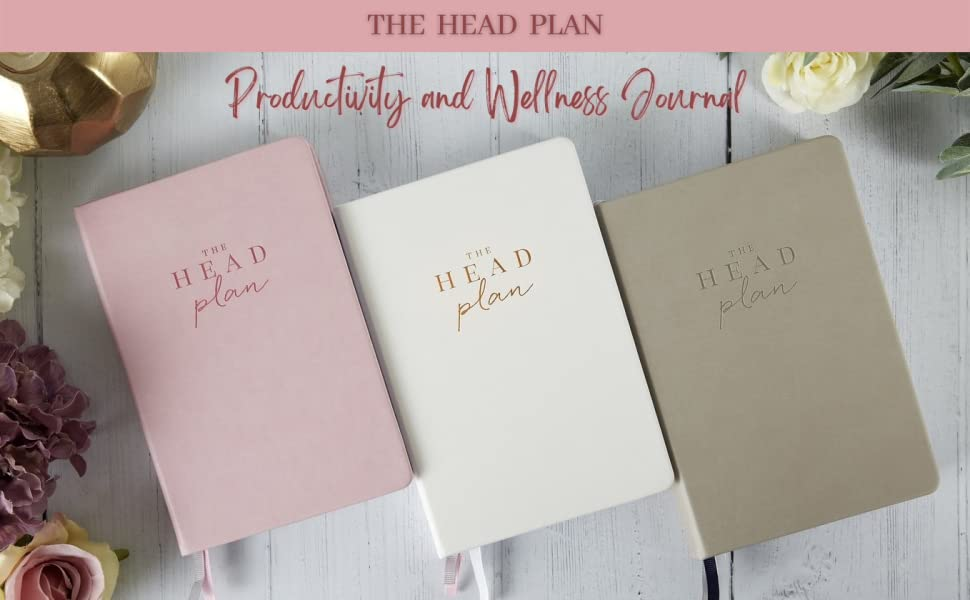 The Head Plan Productivity and Wellness Journal