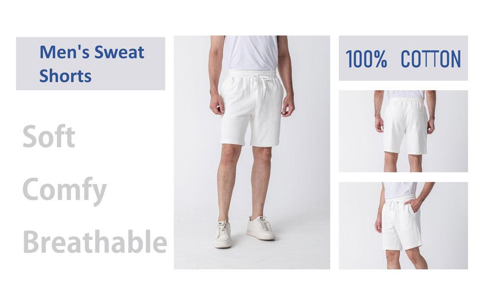 mens jogger short