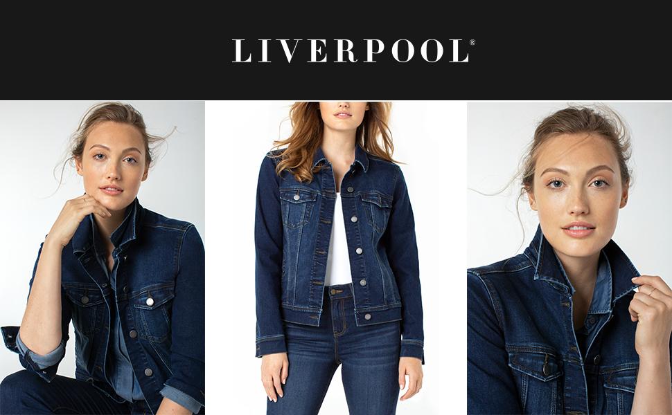 Liverpool Classic Denim Jacket