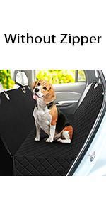 LONENESSL Dog Car Seat Cover
