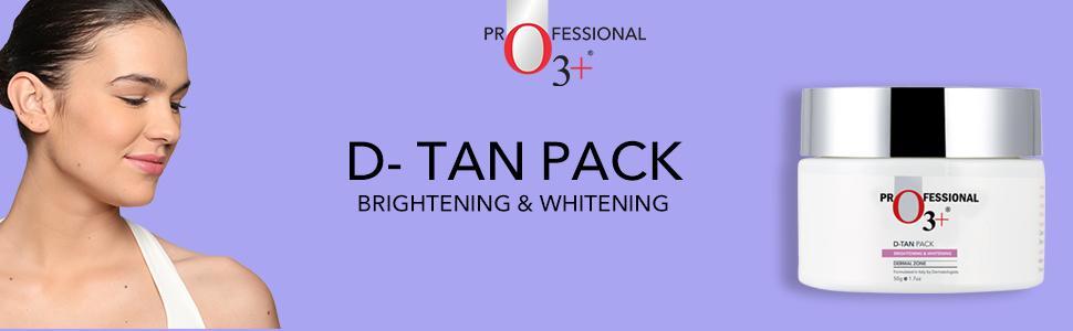 Brightening & Whitening D-Tan Pack