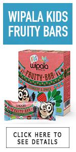 kids bars veggies fruit strawberry spinach organic ninos y ninas fruitilla Wipala