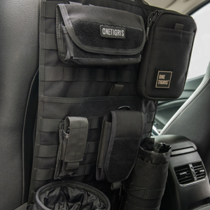Tactical MOLLE Vehicle Panel Car Seat Cover Protector