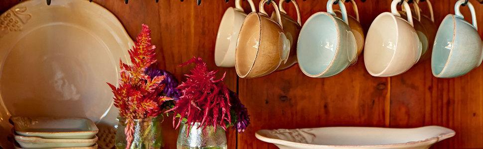 casafina madeira harvest stoneware collection