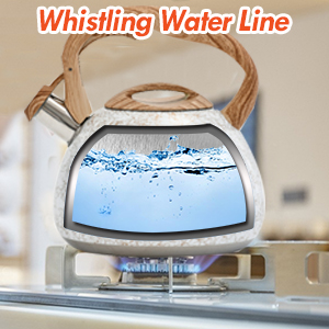 whistling water line
