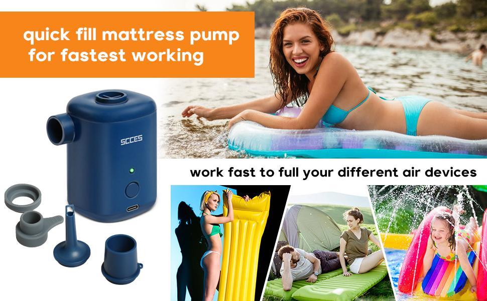 inflatable air pump