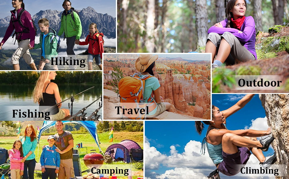 Womenamp;#39;s Lightweight Hiking Shorts Quick Dry Cargo Shorts Summer Travel Fishing Golf Shorts