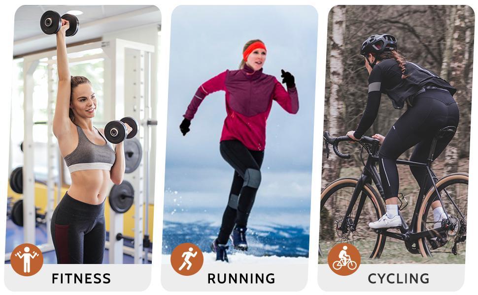 women thermal running pants