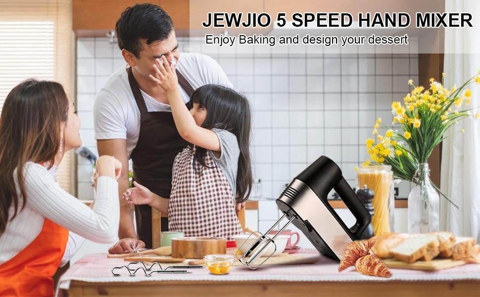 JEWJIO Hand Mixer