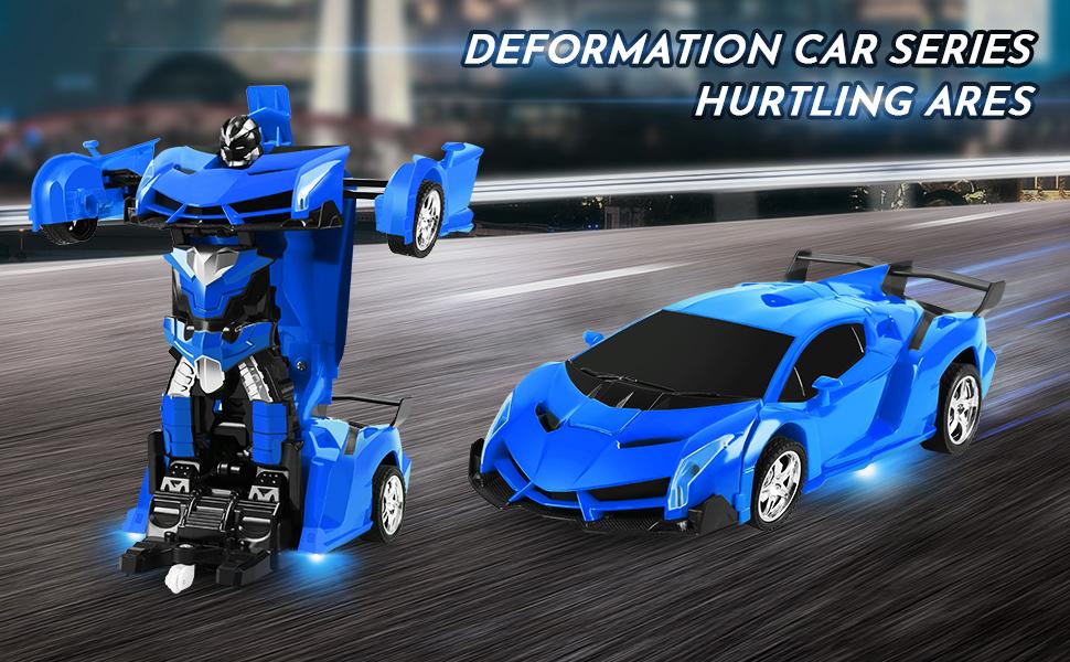 Deformation remote control car