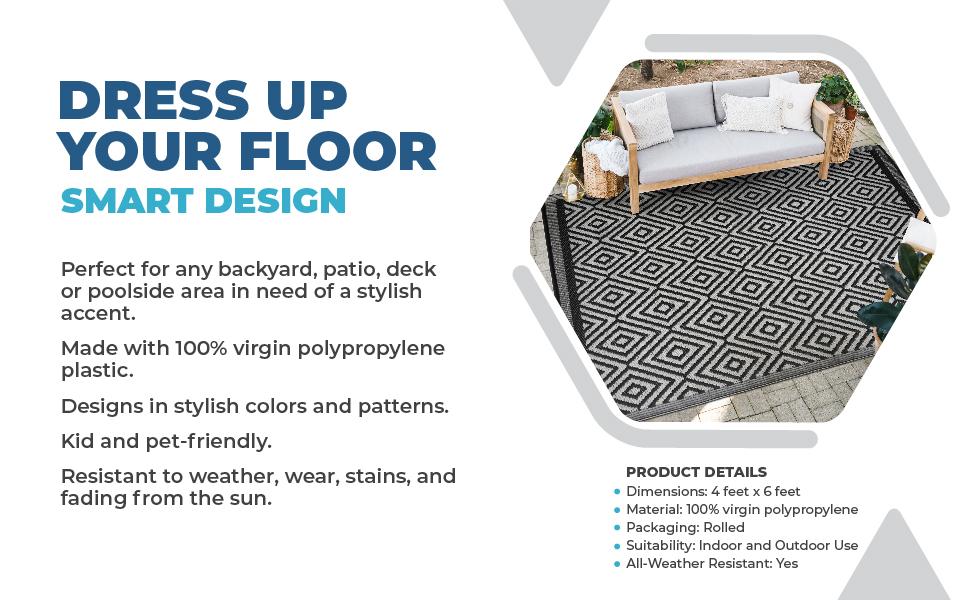 deck rug waterproof
