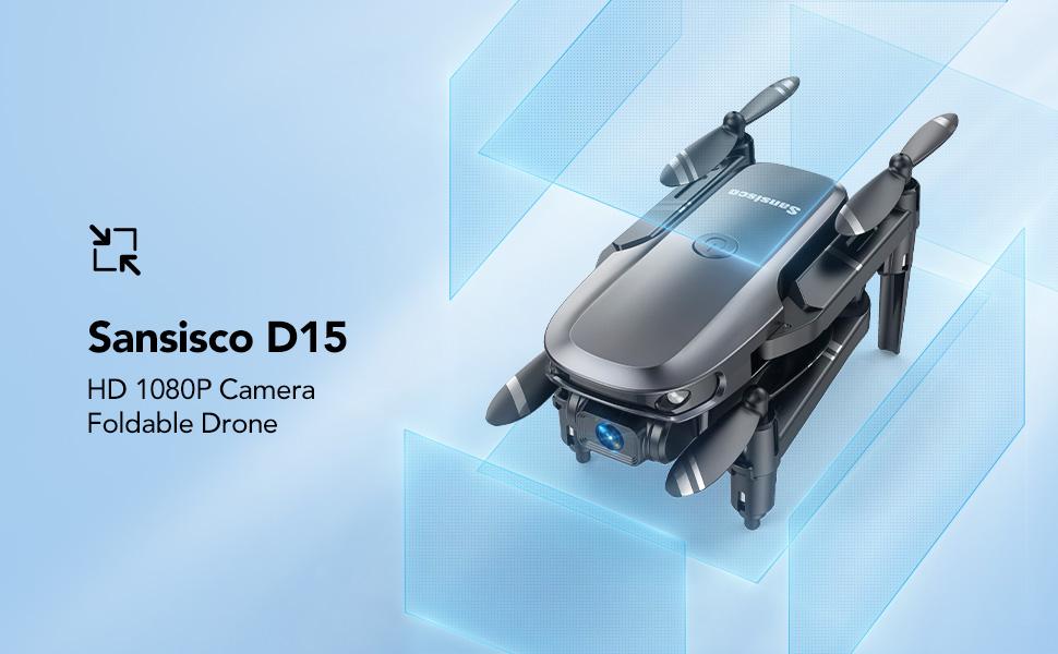 D15 mini drone foldable
