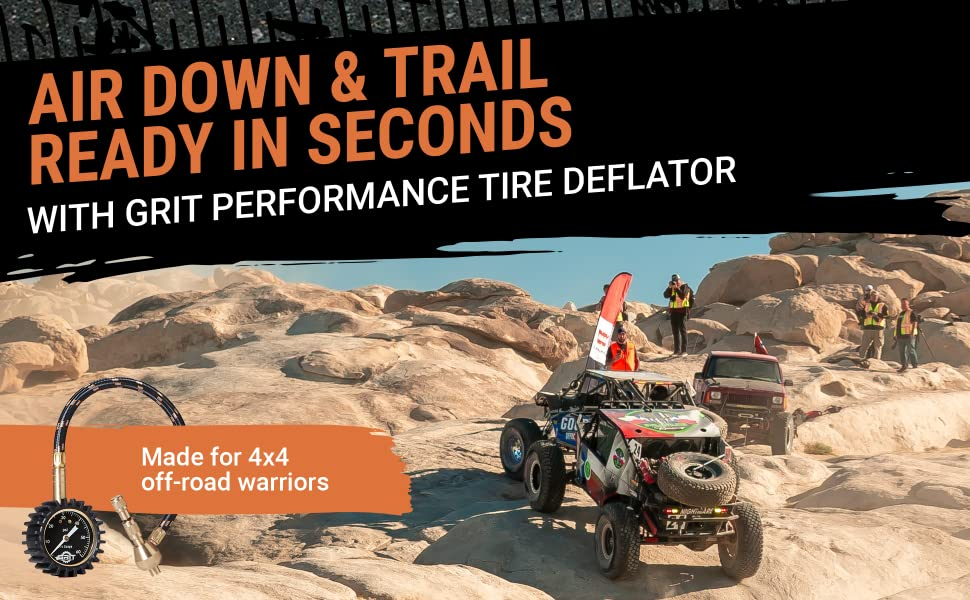 Air Down & Trail Ready in Seconds