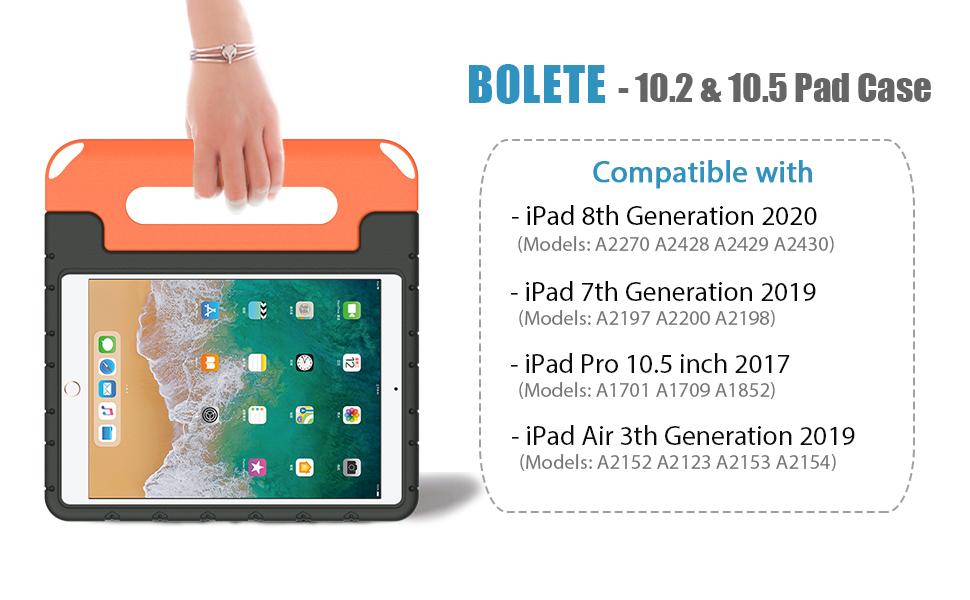 iPad case for 8th gen 7th gen