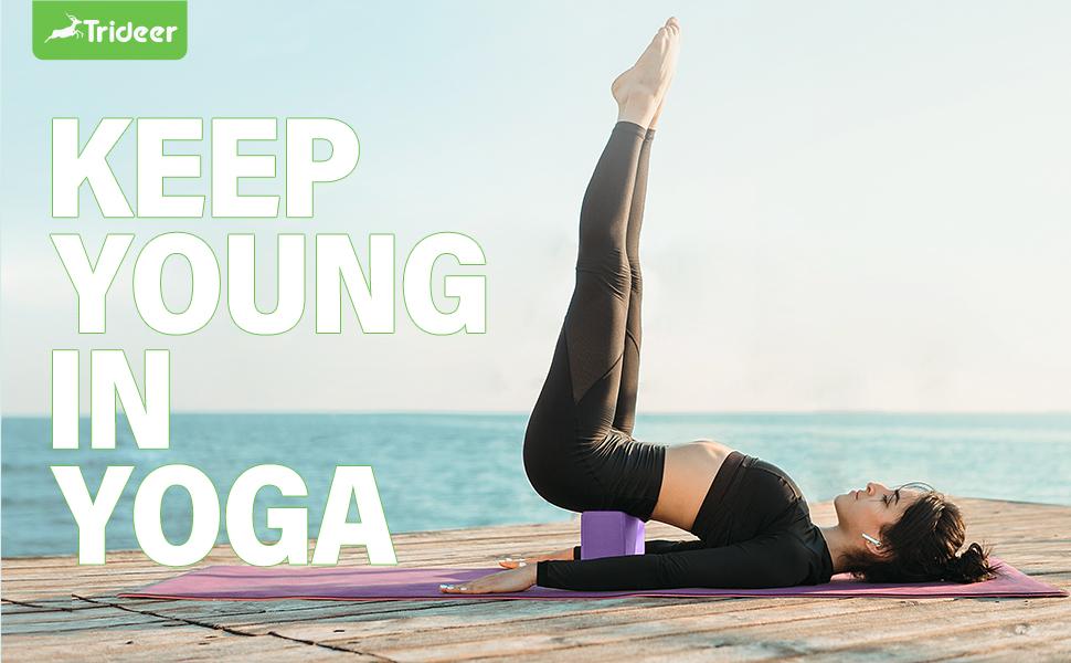 Trideer yoga blocks 2 pack