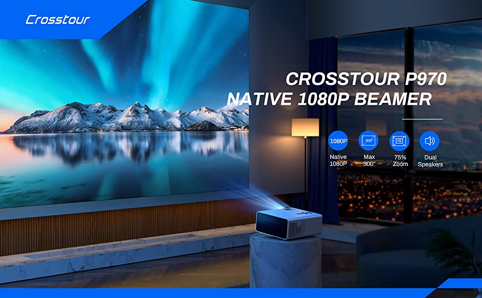 Crosstour P970 Native Beamer