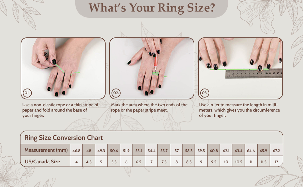 Your Ring Size