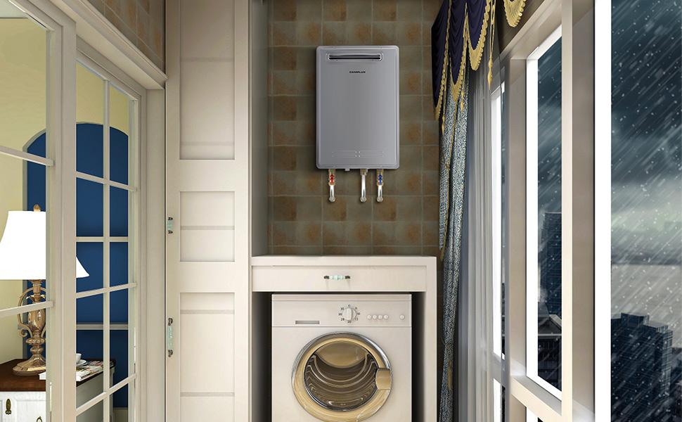 outdoor water heater