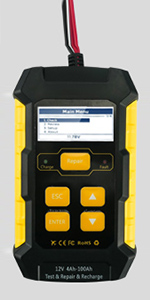 KW650 6V Car Battery Tester 12V Load Tester Analyzer Charging System Tester Test Scan Tool