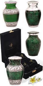 green-urns