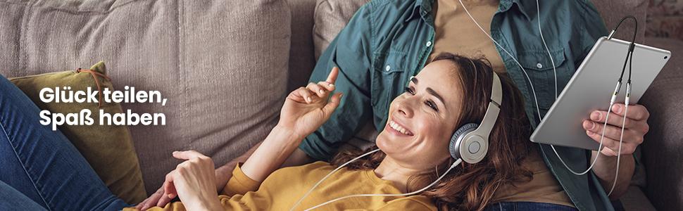 Musik gemeinsam zu hören
