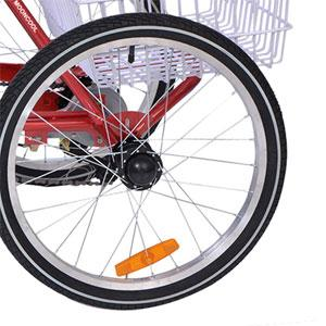"""20"""" 7 Speed Folding Tricycles"""