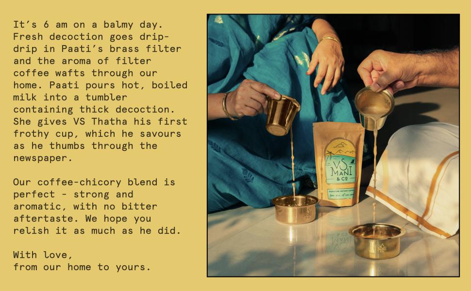 VS Mani Filter Coffee Product Description
