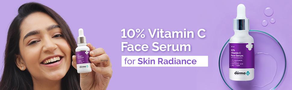 10% Vitamin C Face Serum For Skin Radiance 30ml