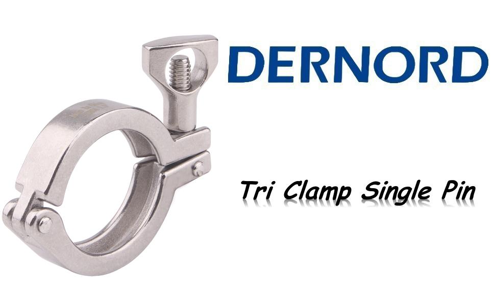 DERNORD Tri Clamp Single Pin