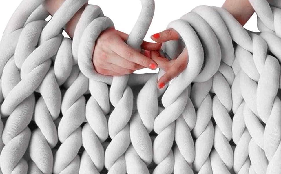 etsiit hand knitting yarn velvet