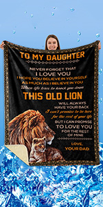 TO DAUGHTER BLANKET