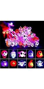 Halloween LED Light Up Rings B088D6SMT6