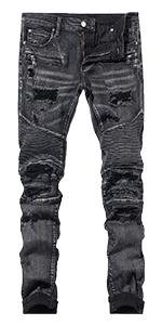 Biker Jeans Ripped