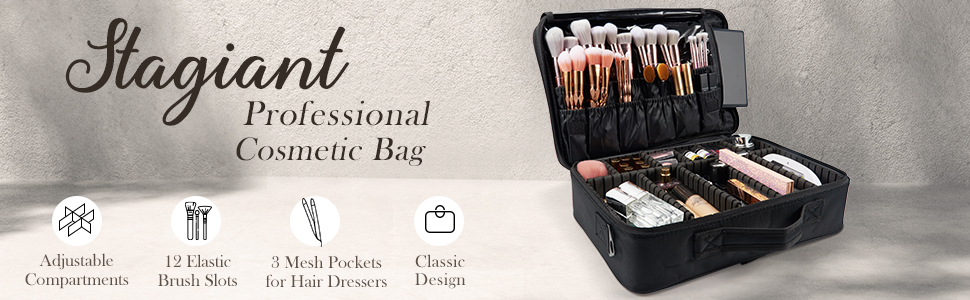Professional cosmetic bag