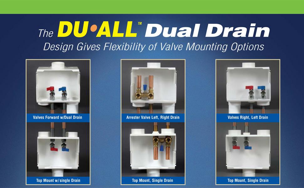 DU-ALL Dual Drain
