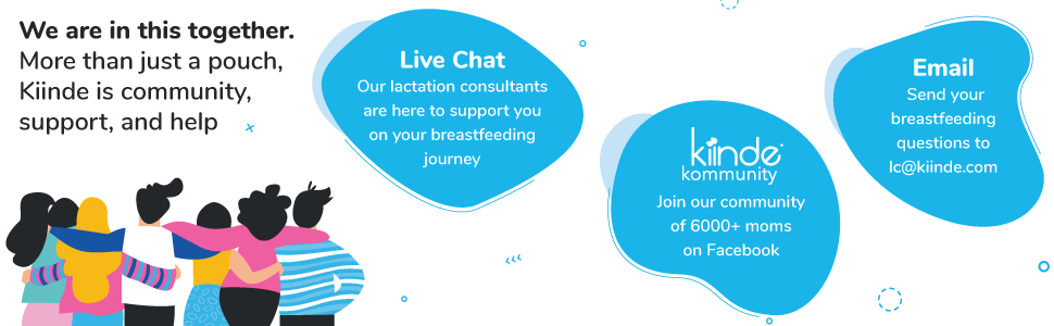 Complimentary benefits from Kiinde: Live Chat, Kiinde Kommunity Facebook group, and Email