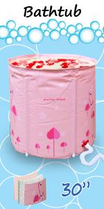 Flamingo  bathtub 30 in pink