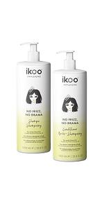 ikoo Anti-Frizz Shampoo and Conditioner