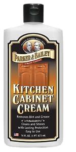 Kitchen Cabinet Cream Wood Cleaner