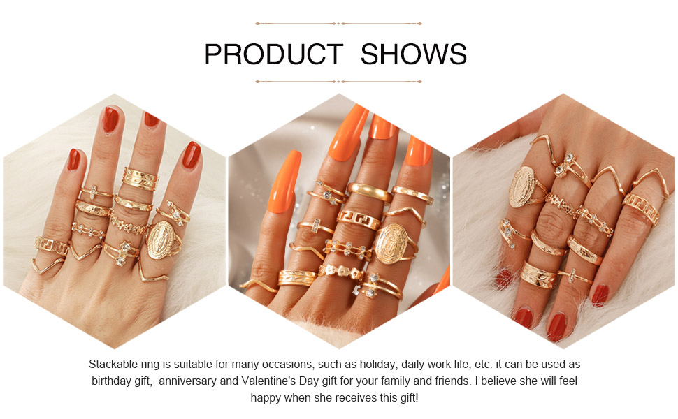 vintage ring set for women  product shows