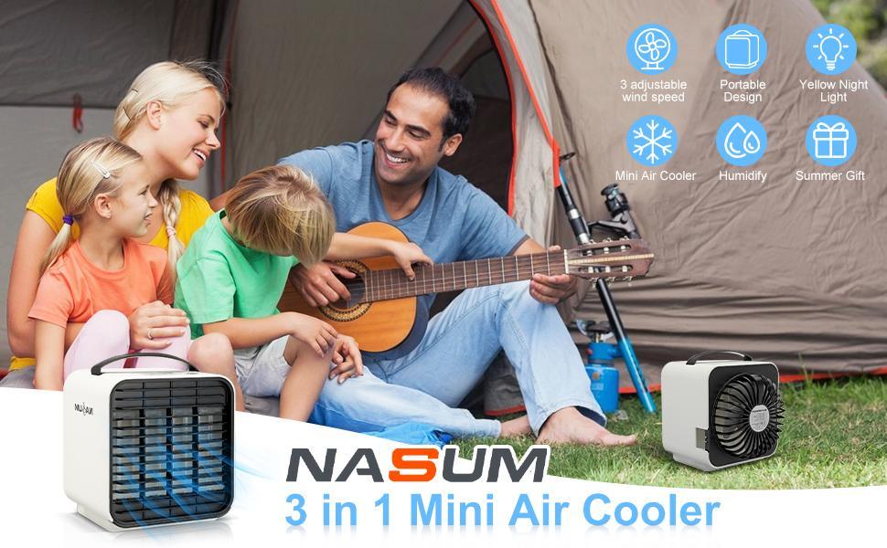 mini air cooler portable air conditioner fan