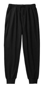 Black Sweatpant Cotton Women