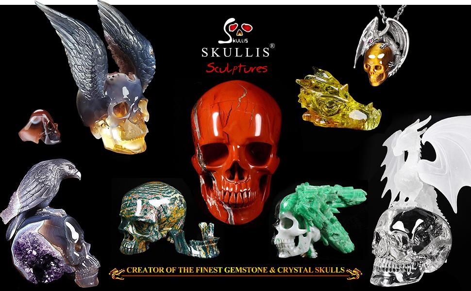 Skullis, Creator Of The Best Crystal amp; Gemstone Skulls