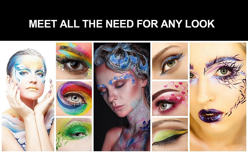 eyeliner makeup brush kit