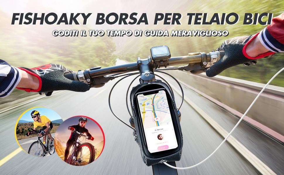 Borsa Telaio Bici