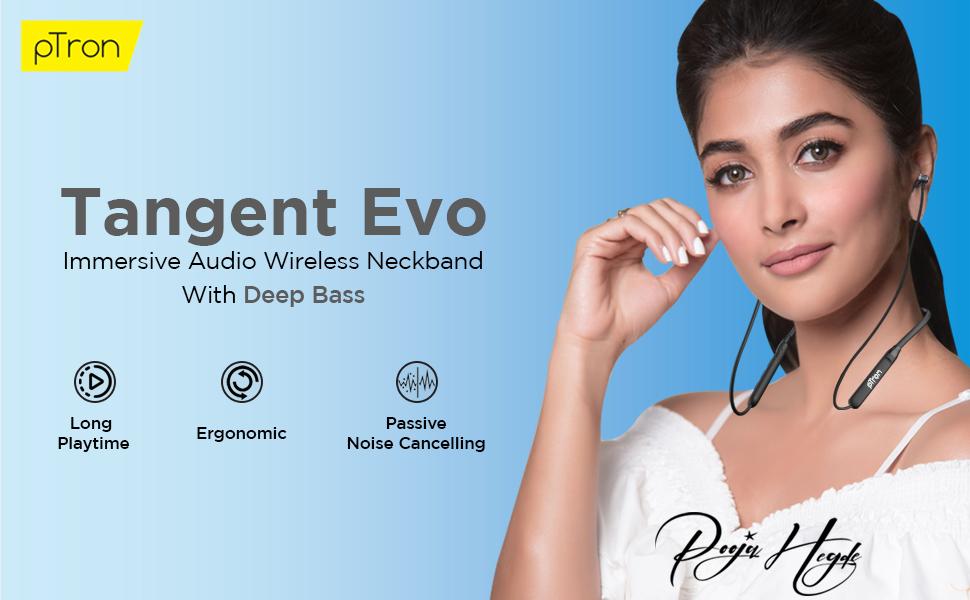 pTron Tangent Evo Wireless Headphones