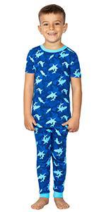 boys organic cotton pajamas