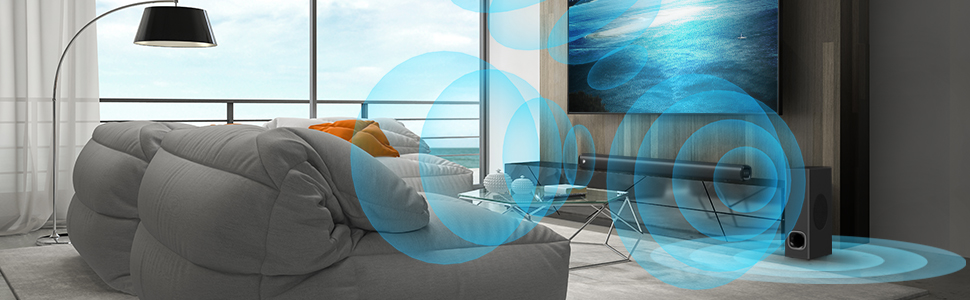 Home theater soundbar system