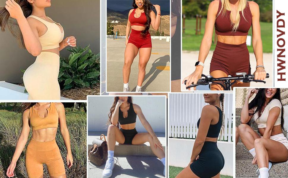 workout set shorts